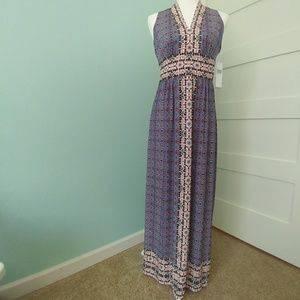 NWT Wisp Ella Jersey Maxi Dress 6P